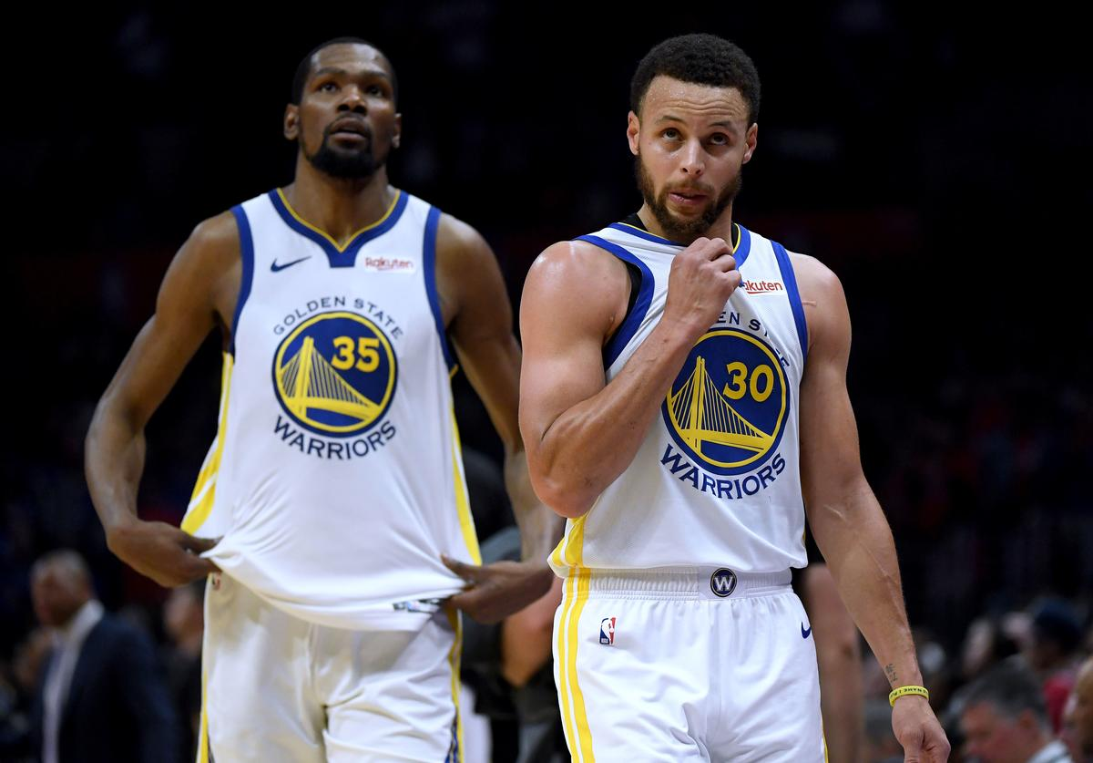 Kevin Durant & Steph Curry