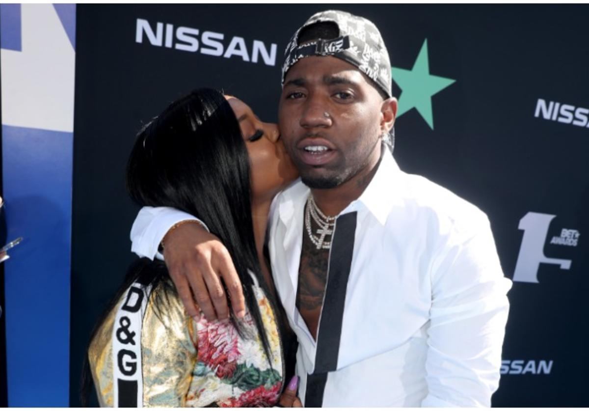 Reginae Carter and YFN Lucci attend the 2019 BET Awards at Microsoft Theater on June 23, 2019 in Los Angeles, California.