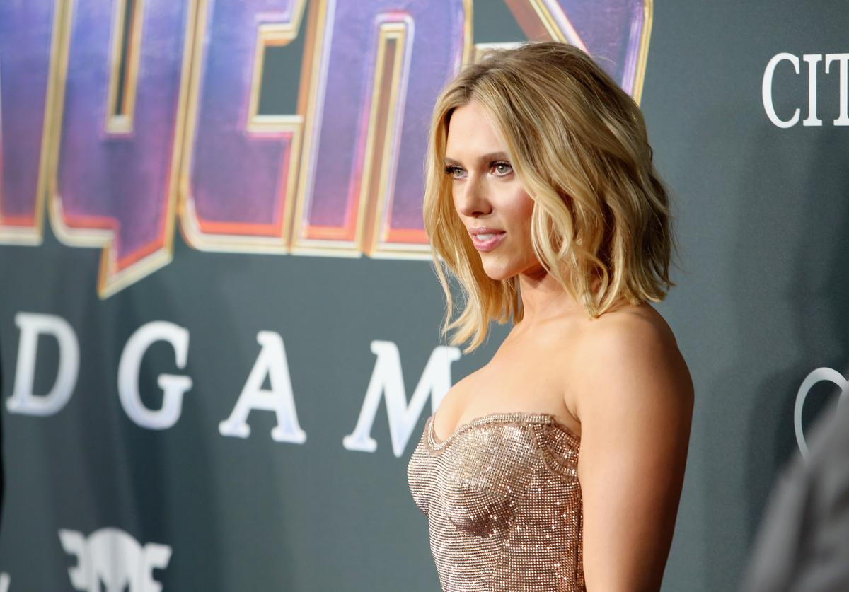 "Scarlett Johansson attends the Los Angeles World Premiere of Marvel Studios' ""Avengers: Endgame"""