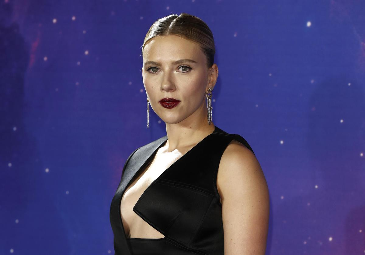"Scarlett Johansson attends the ""Avengers Endgame"" UK Fan Event at the Picturehouse Central"