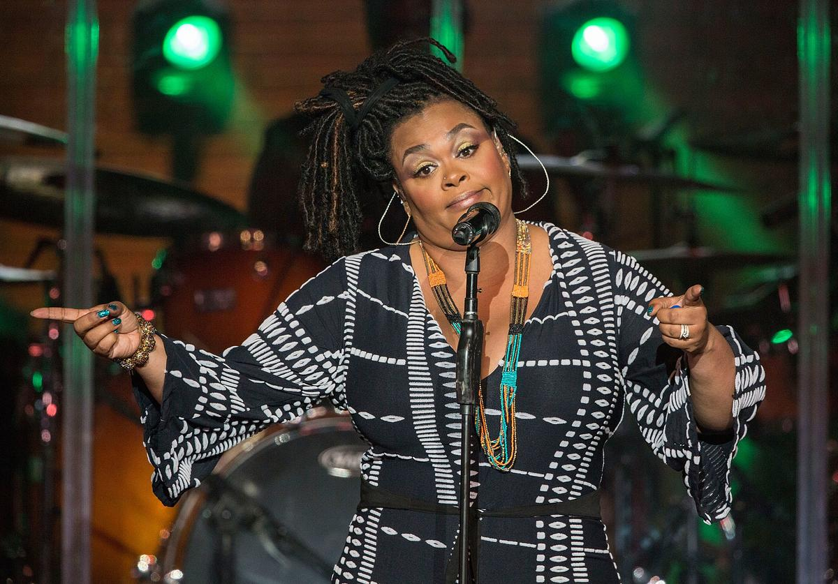 Singer/songwriter Jill Scott performs on stage at Pechanga Casino on August 18, 2017 in Temecula, California.