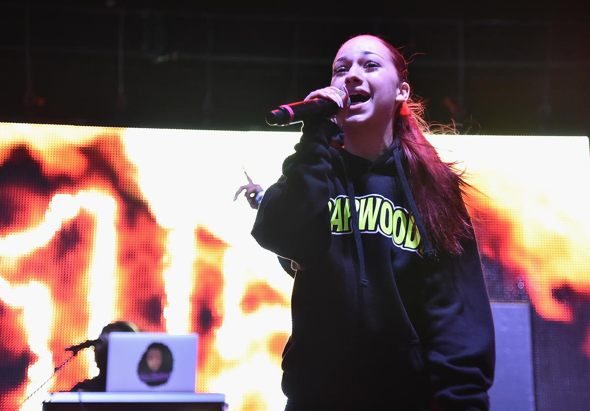 Bhad Bhabie performs onstage during Day 2 of Billboard Hot 100 Festival 2018 at Northwell Health at Jones Beach Theater on August 19, 2018 in Wantagh, New York