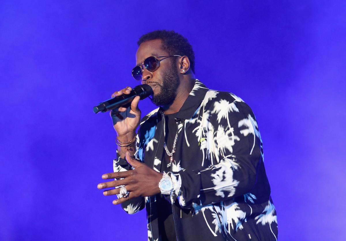 Diddy performs onstage at SOMETHING IN THE WATER - Day 2 on April 27, 2019 in Virginia Beach City