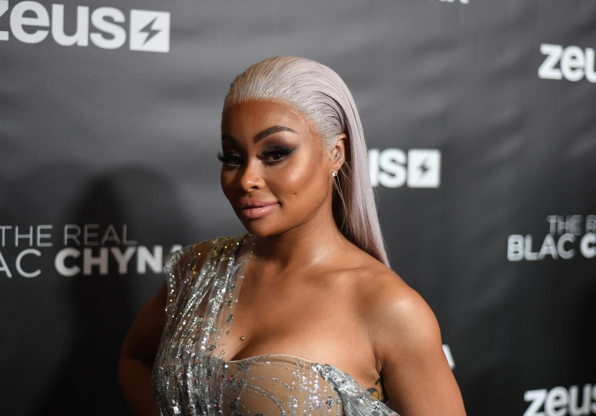 "Blac Chyna attends ""The Real Blac Chyna"" Atlanta premiere screening at Regal Cinemas Atlantic Station Stadium 16 on July 14, 2019 in Atlanta, Georgia."