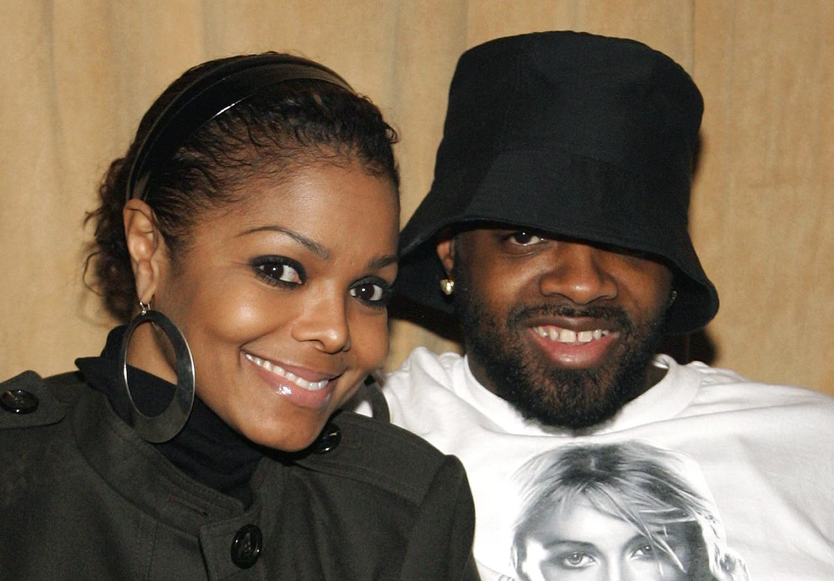 Janet Jackson (L) and music artist and producer Jermaine Dupri appear at the Industry Night launch party at Prive Las Vegas inside the Planet Hollywood Resort & Casino early January 22, 2008 in Las Vegas, Nevada