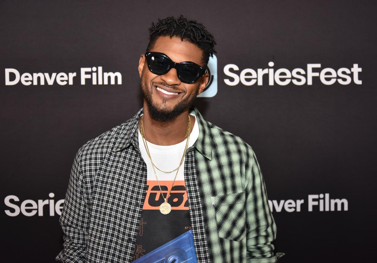 Usher on the red carpet during SeriesFest Season 5 at Red Rocks on June 24, 2019 in Morrison, Colorado.