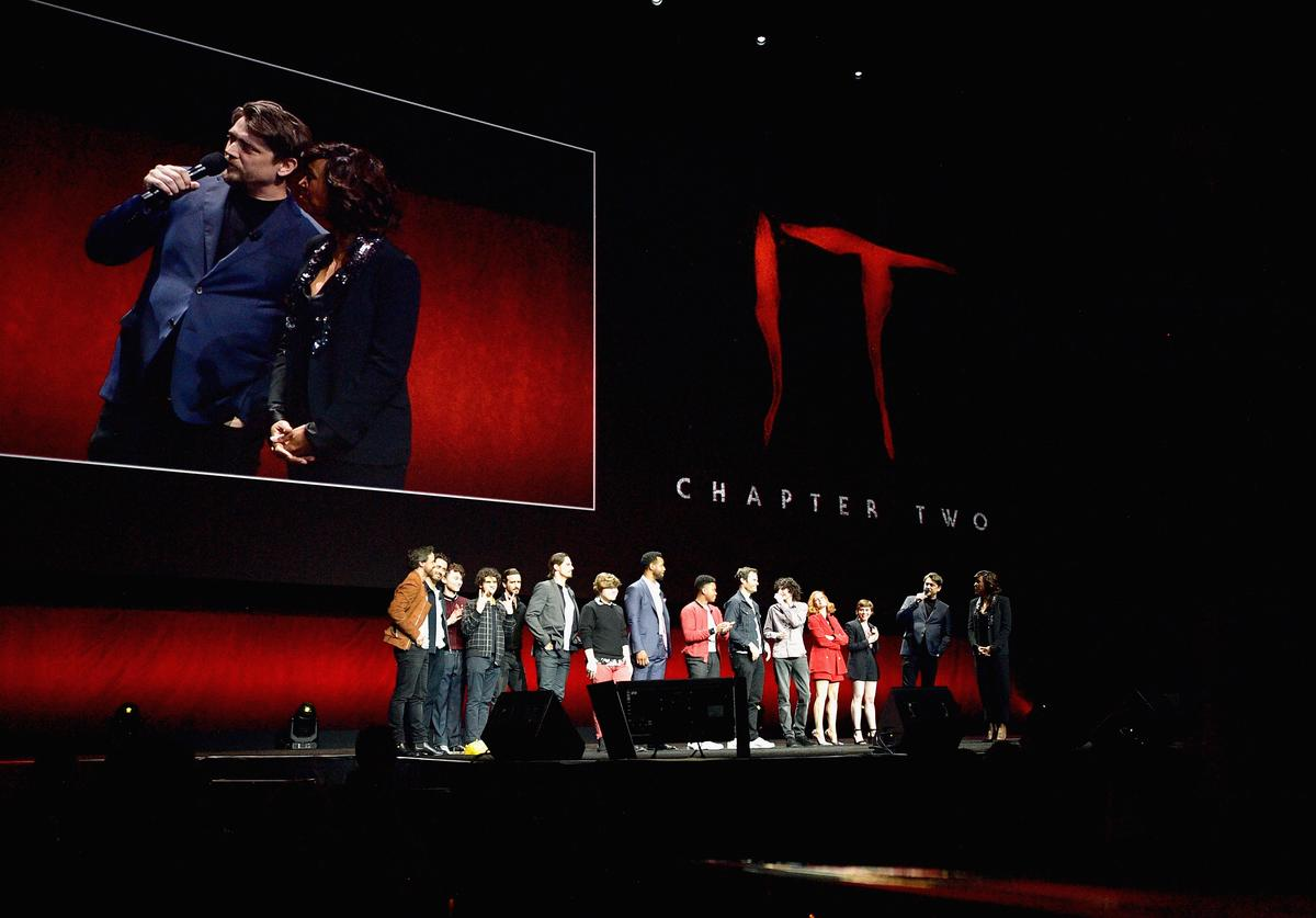 "Cast & crew of ""It: Chapter Two"" speaks onstage"