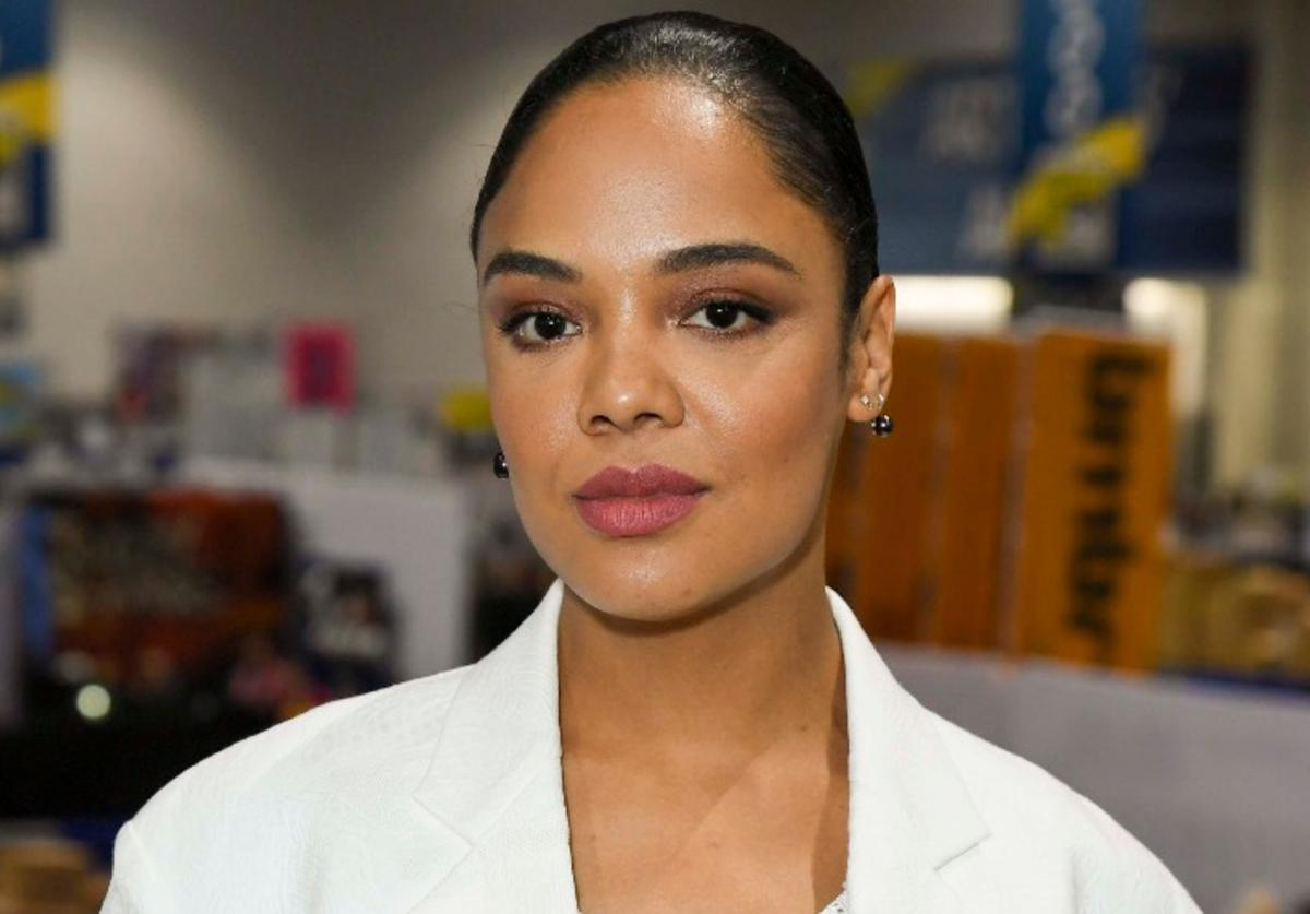 "Tessa Thompson at ""Westworld"" Comic Con Autograph Signing 2019 on July 20, 2019 in San Diego, California."