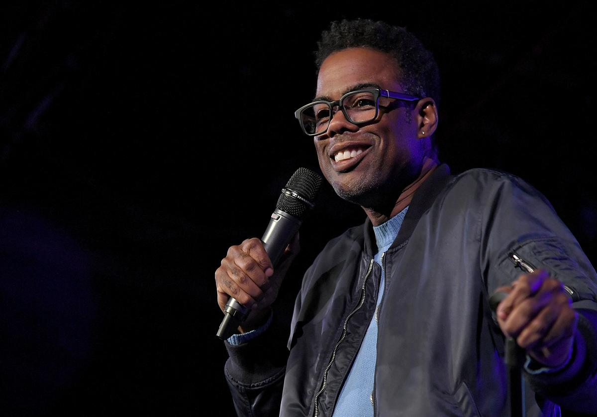 Chris Rock performs during the the Movement Voter Project comedy benefit at The Bell House on October 24, 2018 in the Brooklyn borough of New York City.