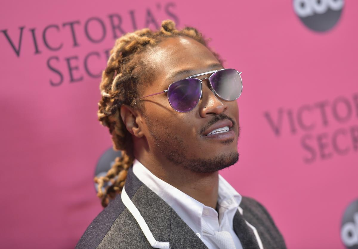 Future attends the 2018 Victoria's Secret Fashion Show at Pier 94 on November 08, 2018 in New York City.