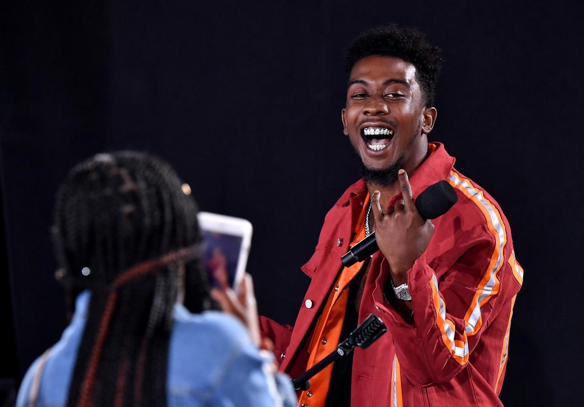Desiigner performs at the After Party Live, sponsored by Ciroc, at the 2018 BET Awards Post Show at Microsoft Theater on June 24, 2018 in Los Angeles, California
