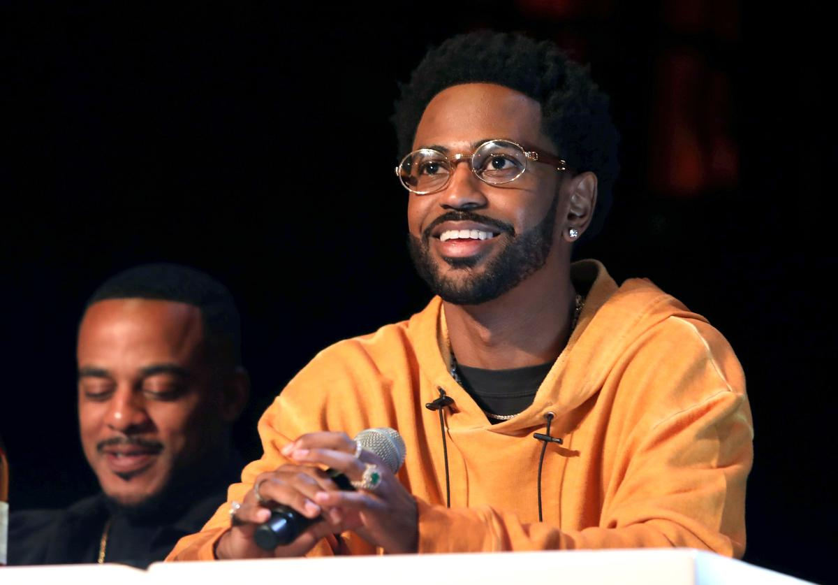 Big Sean attends Remy Martin Crowns the Winner of Producers Series Season 5 with Big Sean & Mustard on September 26, 2018 in Los Angeles, California
