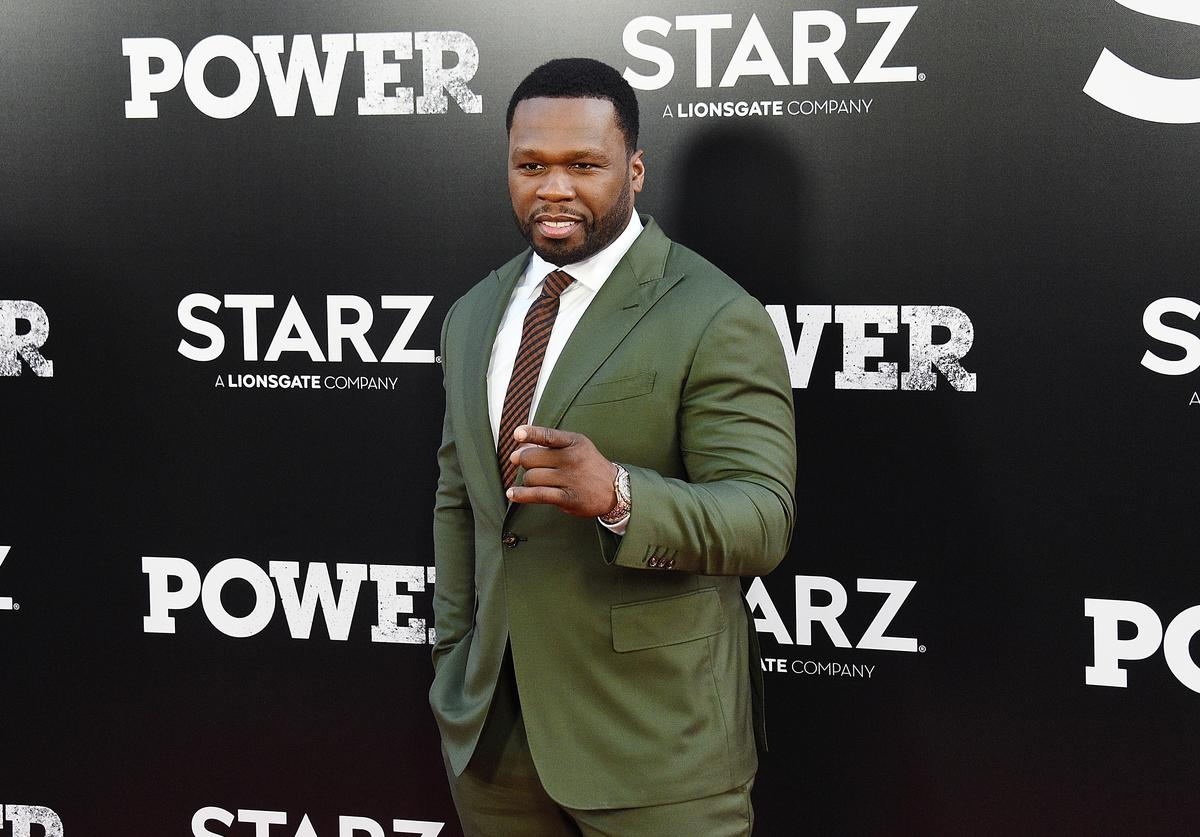 "Curtis ""50 Cent"" Jackson attends the ""POWER"" Season 5 Premiere at Radio City Music Hall on June 28, 2018 in New York City"