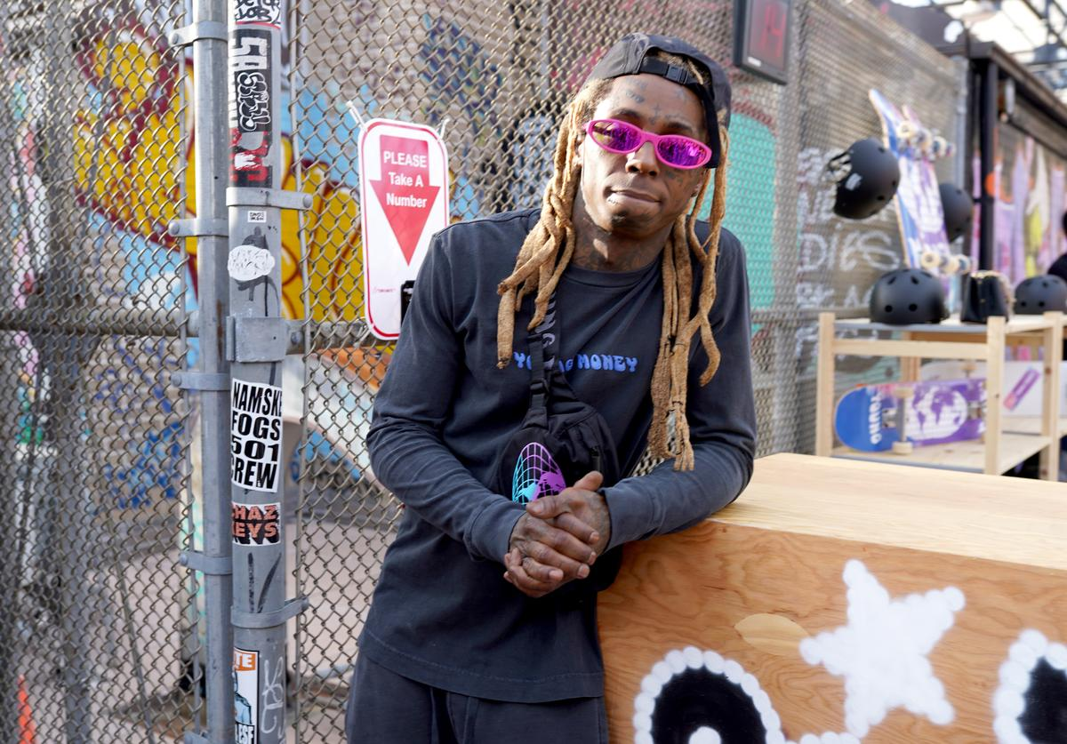 Lil Wayne attends the AE x Young Money Collab and Fall '19 Campaign celebration on July 15, 2019 in New York City.