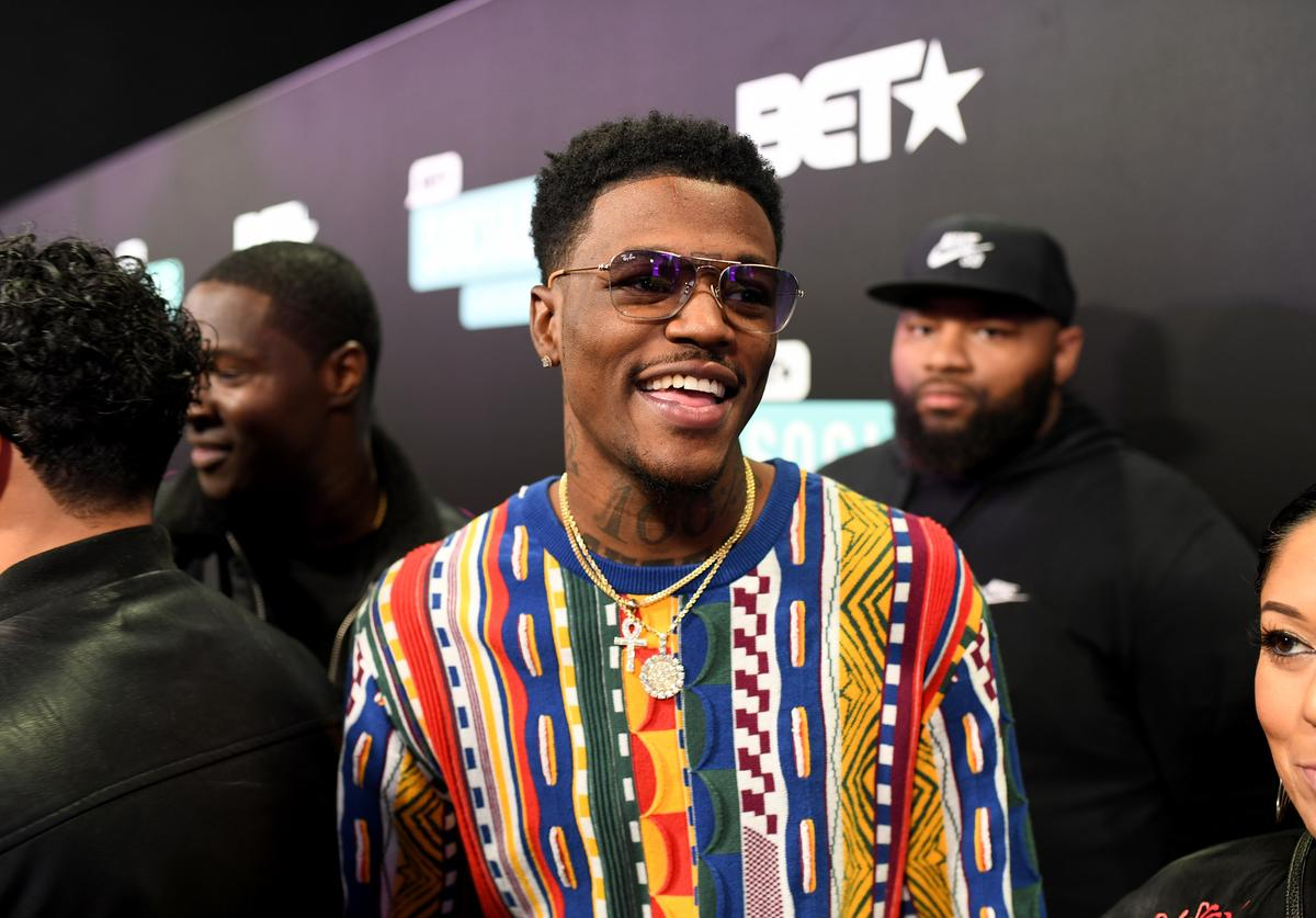 D.C. Young Fly attends the 2019 BET Social Awards at Tyler Perry Studio on March 3, 2019 in Atlanta, Georgia