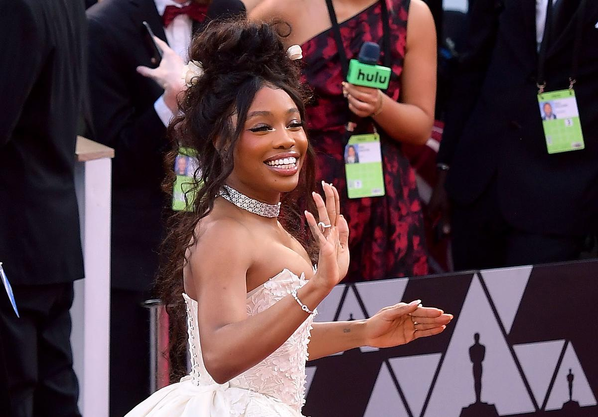 SZA attends the 91st Annual Academy Awards at Hollywood and Highland on February 24, 2019 in Hollywood, California