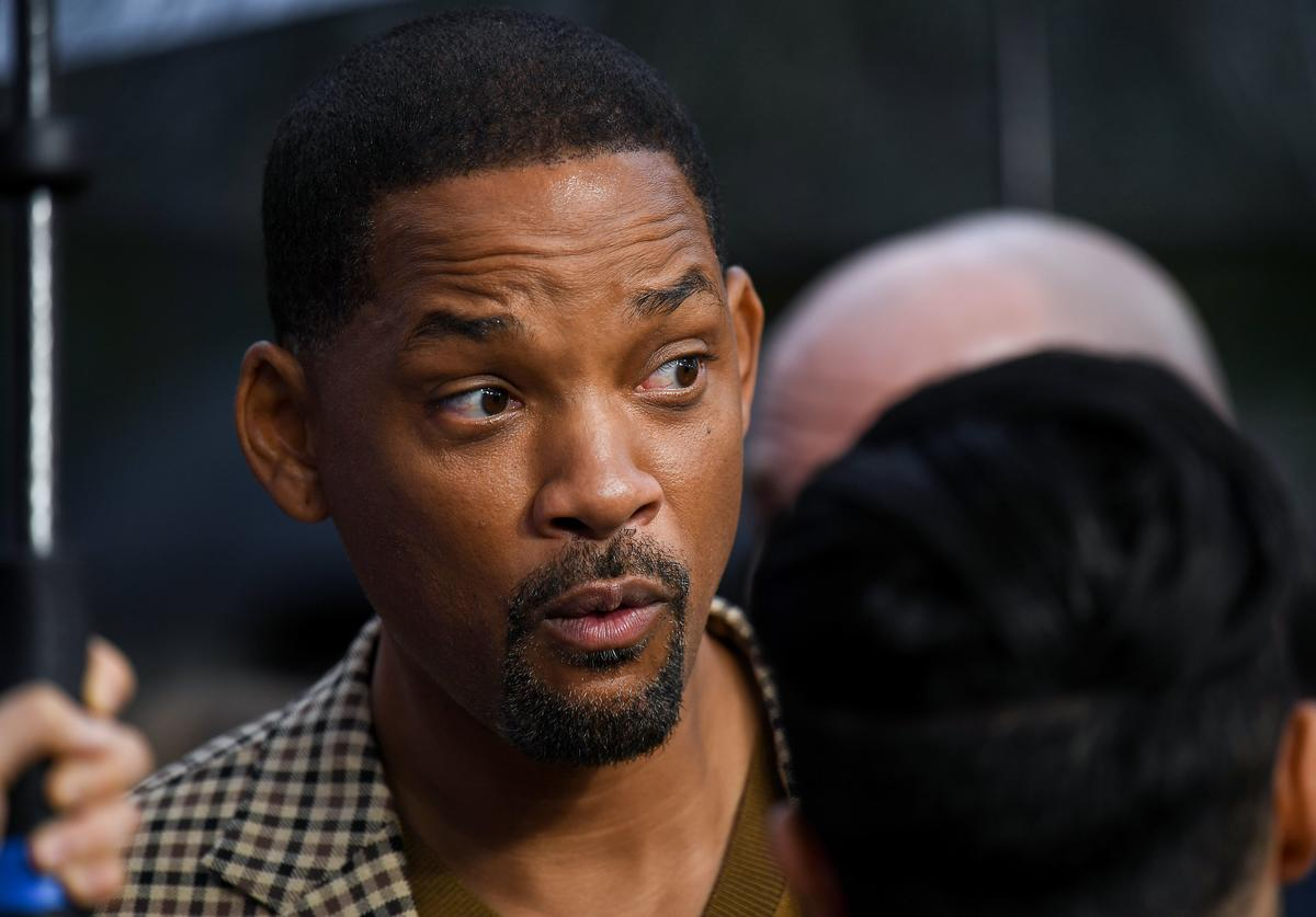 """Will Smith attends the """"Aladdin"""" European Gala at Odeon Luxe Leicester Square on May 09, 2019 in London, England"""