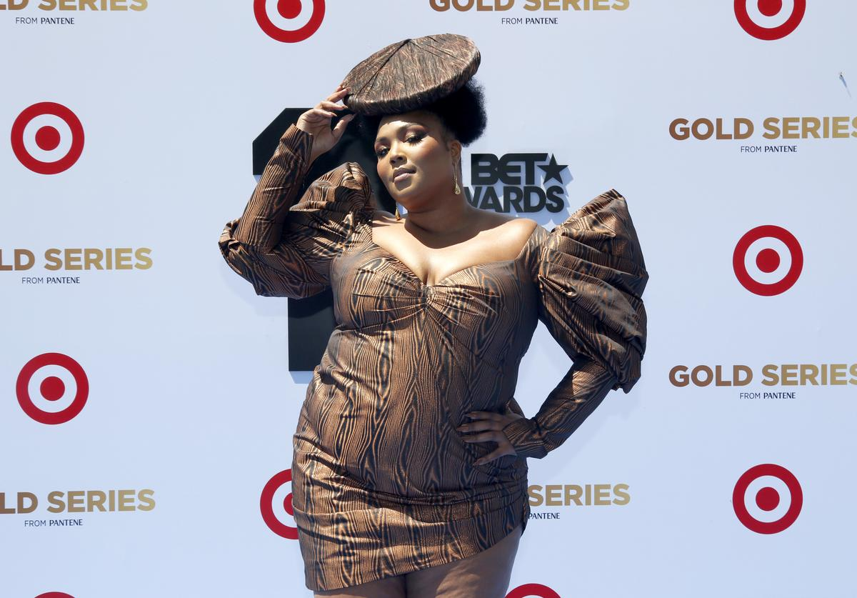 Lizzo attends the Pantene Style Stage at the 2019 BET Awards at the 2019 BET Awards at Microsoft Theater on June 23, 2019 in Los Angeles, California