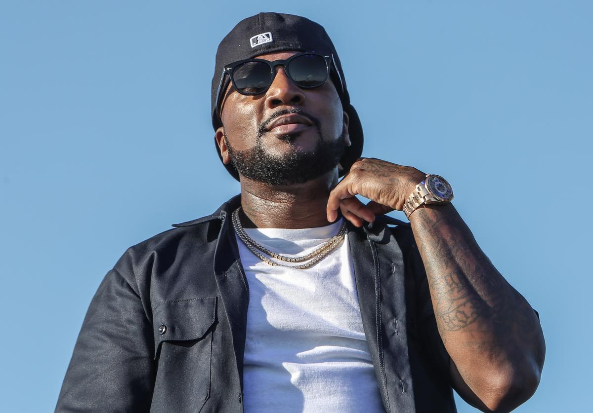 Jeezy performs during the 2019 Funk Fest Tour at Central Florida fairgrounds on April 26, 2019 in Orlando, FL.