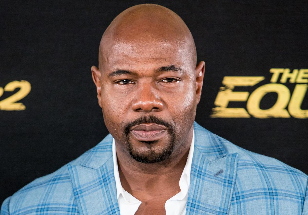 Director Antoine Fuqua attends 'The Equalizer 2' photocall at the Villamagna Hotel on August 7, 2018 in Madrid, Spain.