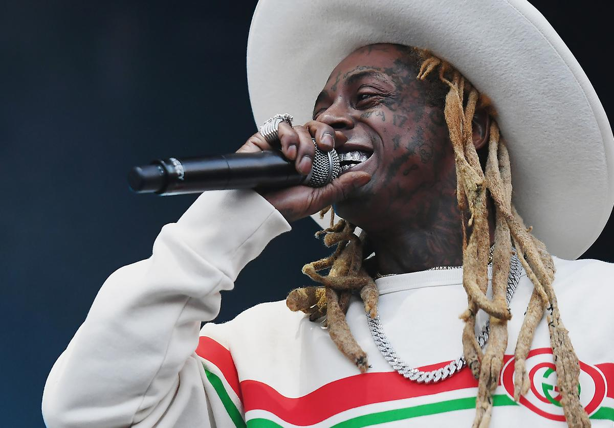 Lil Wayne performs at the 2019 Governors Ball Festival at Randall's Island on May 31, 2019 in New York City