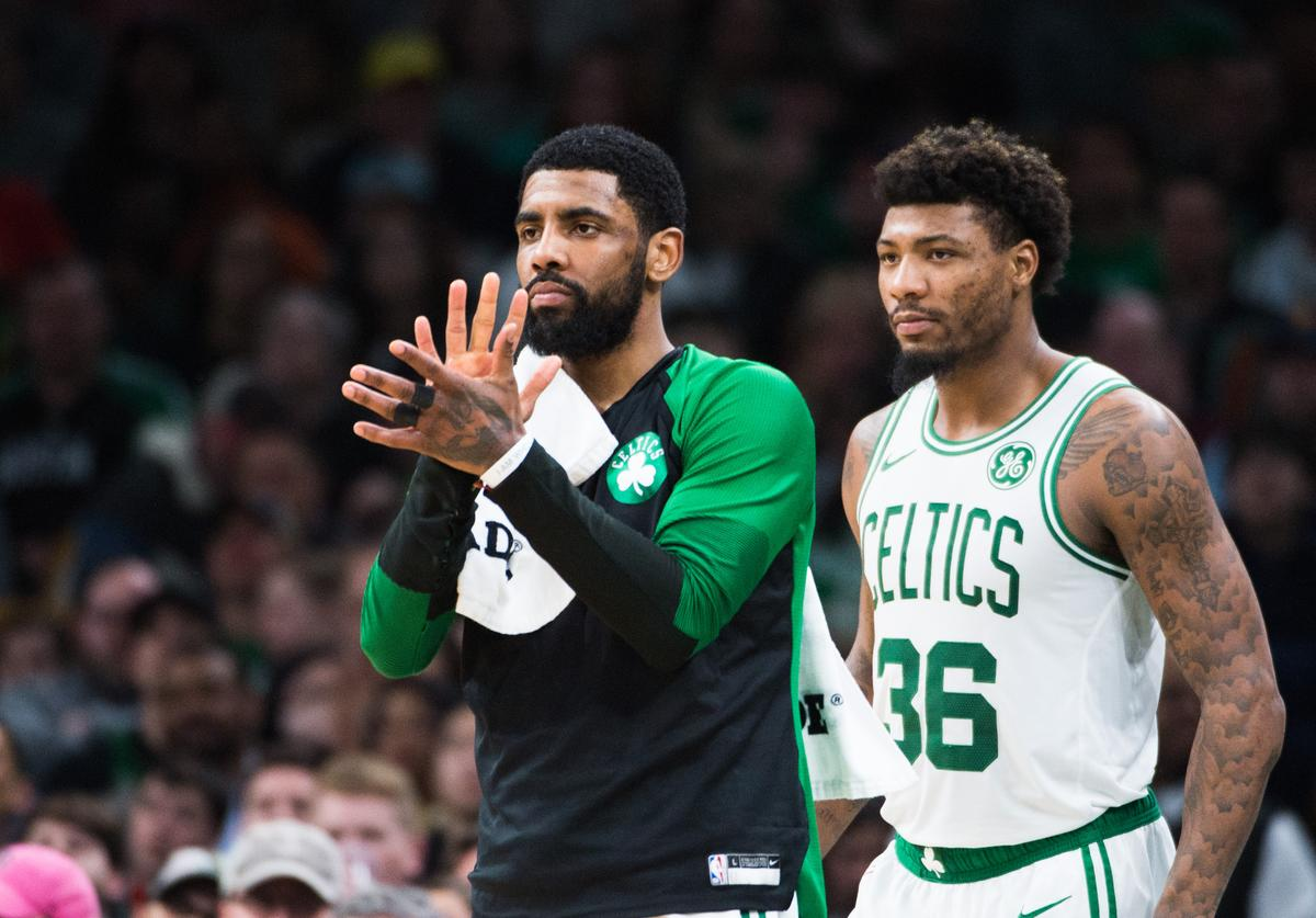 Kyrie Irving & Marcus Smart