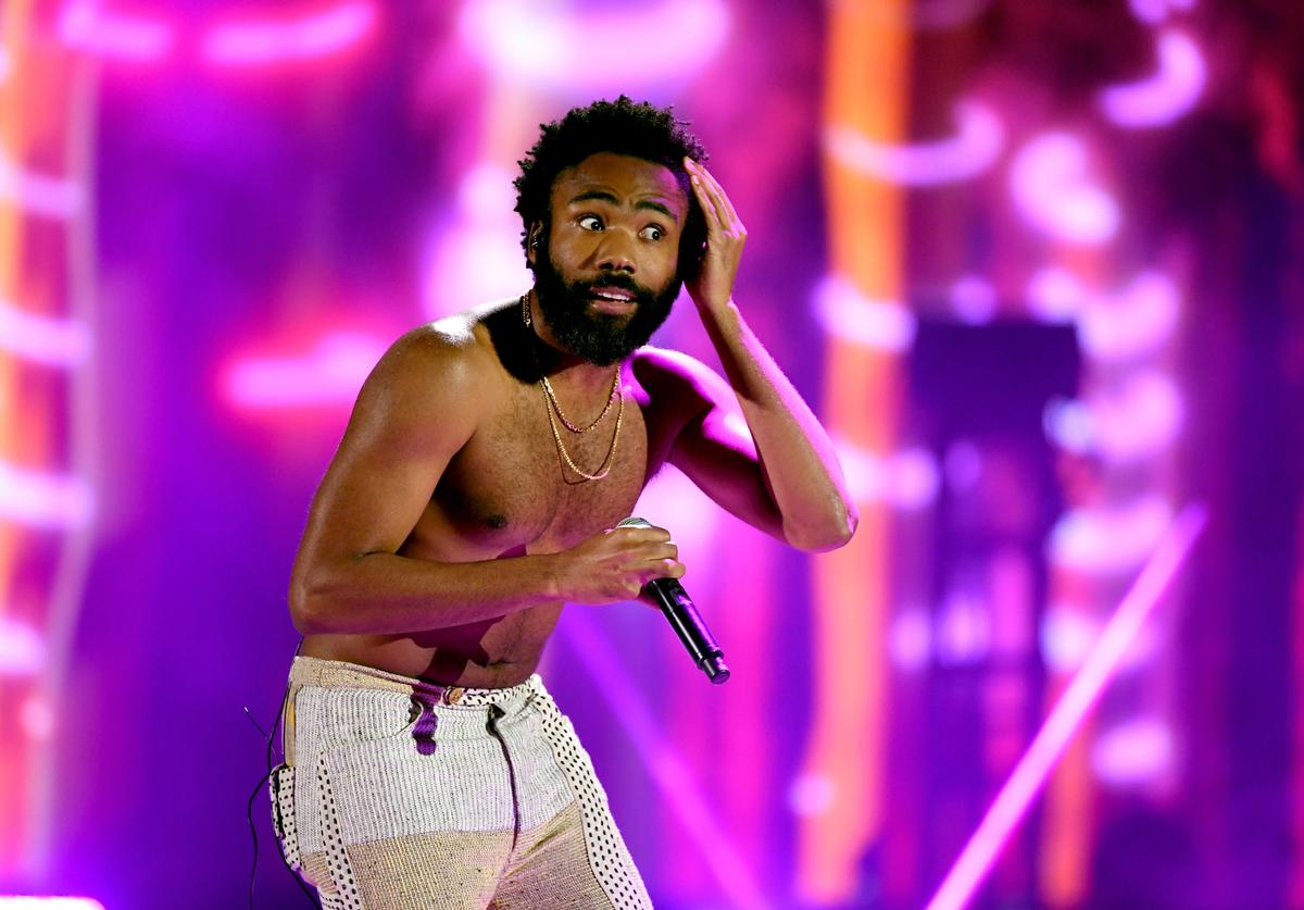 Childish Gambino performs onstage during the 2018 iHeartRadio Music Festival at T-Mobile Arena on September 21, 2018 in Las Vegas, Nevada