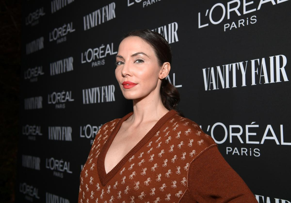 Whitney Cummings is seen as Vanity Fair and L'Oréal Paris Celebrate New Hollywood on February 19, 2019 in Los Angeles, California