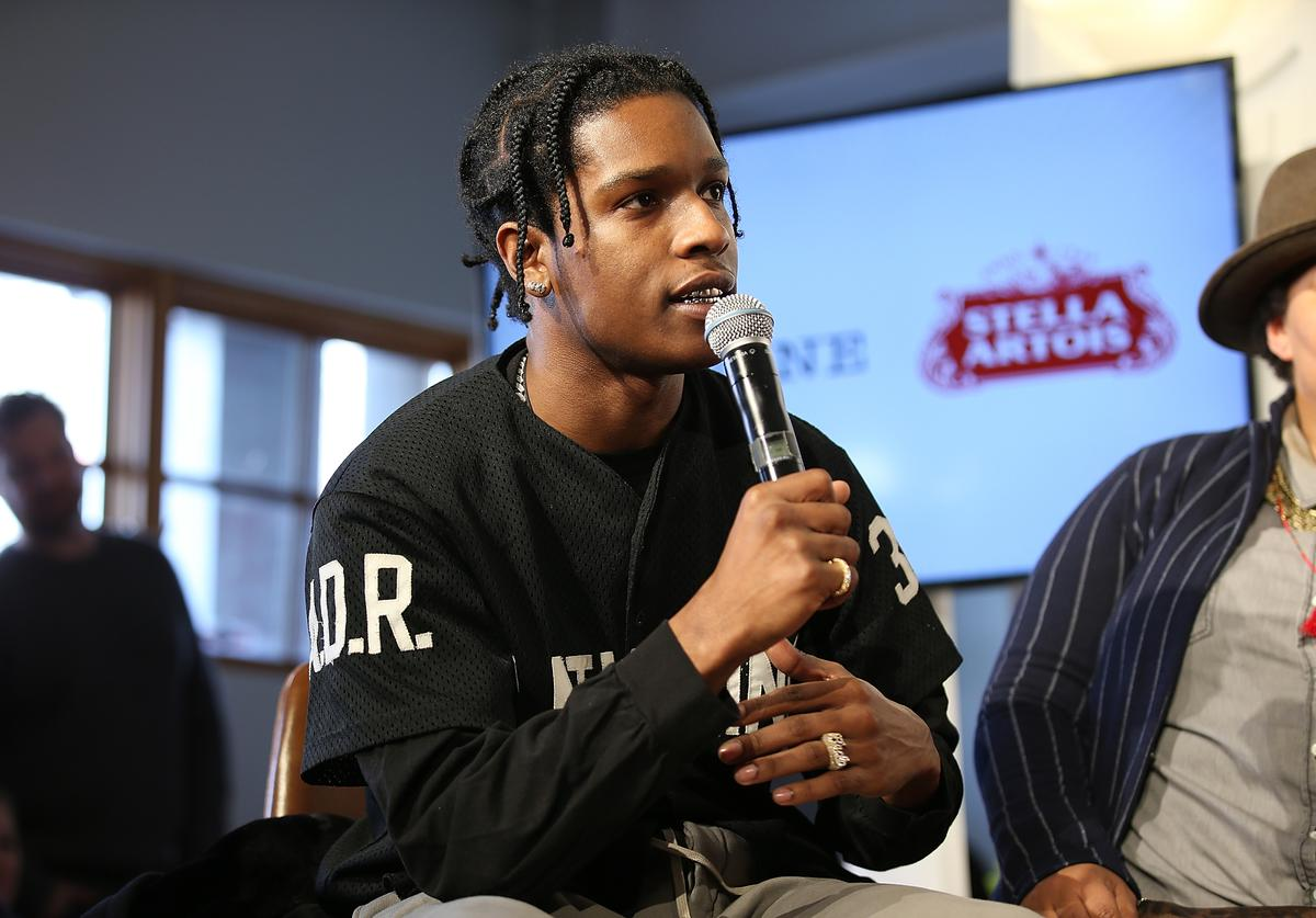 ASAP Rocky and the cast of Monster participated in a live Q&A hosted by Stella Artois and Deadline.com at Cafe Artois during the Sundance Film Festival in Park City, Utah on Sunday, January 21, 2018.