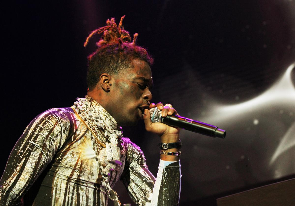 Lil Uzi Vert performs at Power 105.1's Powerhouse 2018 at Prudential Center on October 28, 2018 in Newark, New Jersey