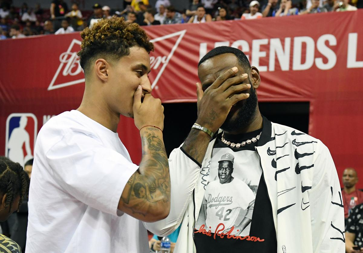 Kyle Kuzma & LeBron James