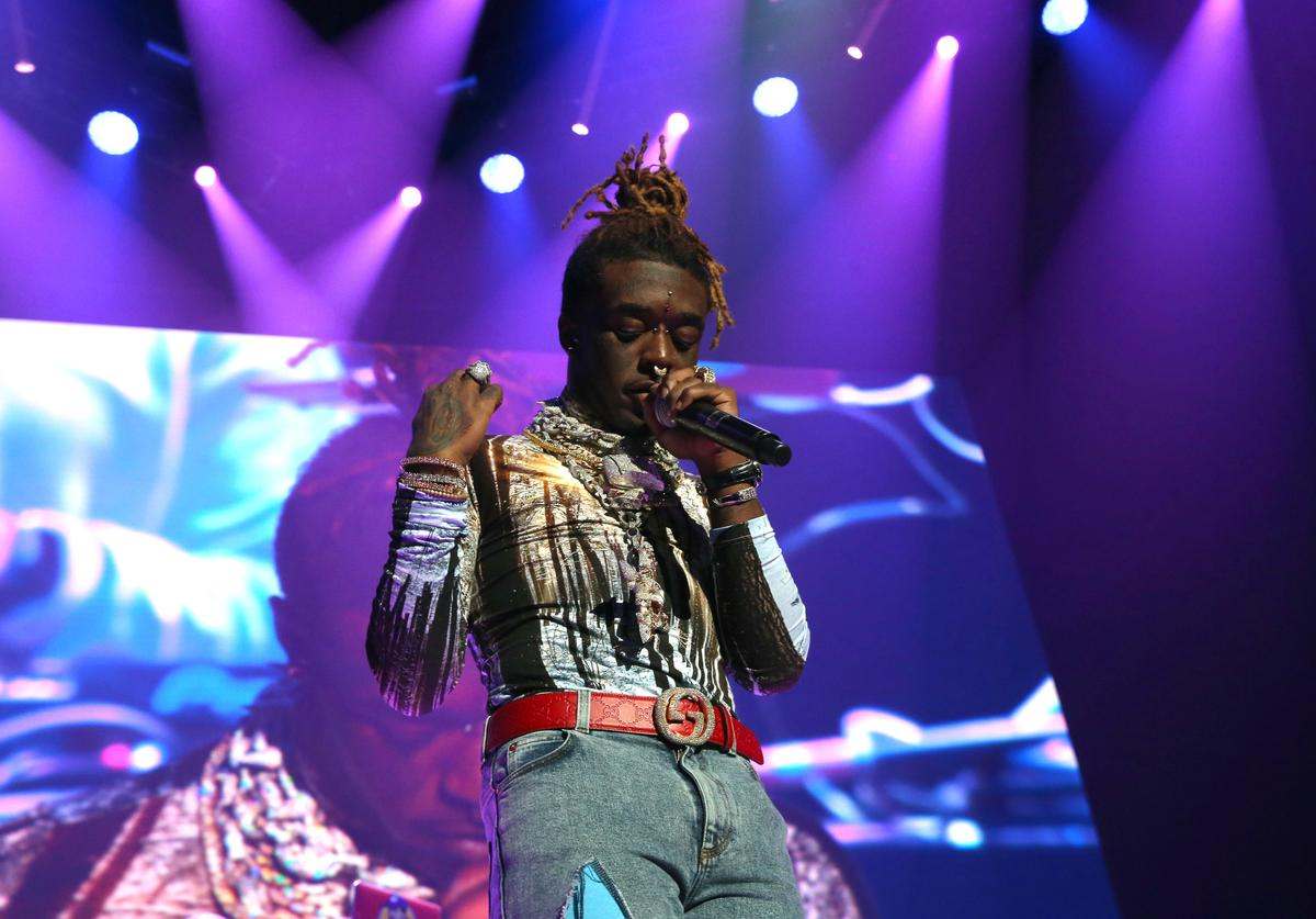 Rapper Lil Uzi Vert performs at Power 105.1's Powerhouse 2018 at Prudential Center