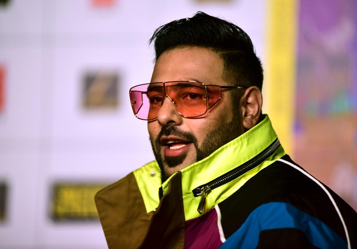 Rap-music composer and singer Badshah looks on as he attends the trailer launch of upcoming Hindi film 'Khandaani Shafakhana' in Mumbai on July 22, 2019