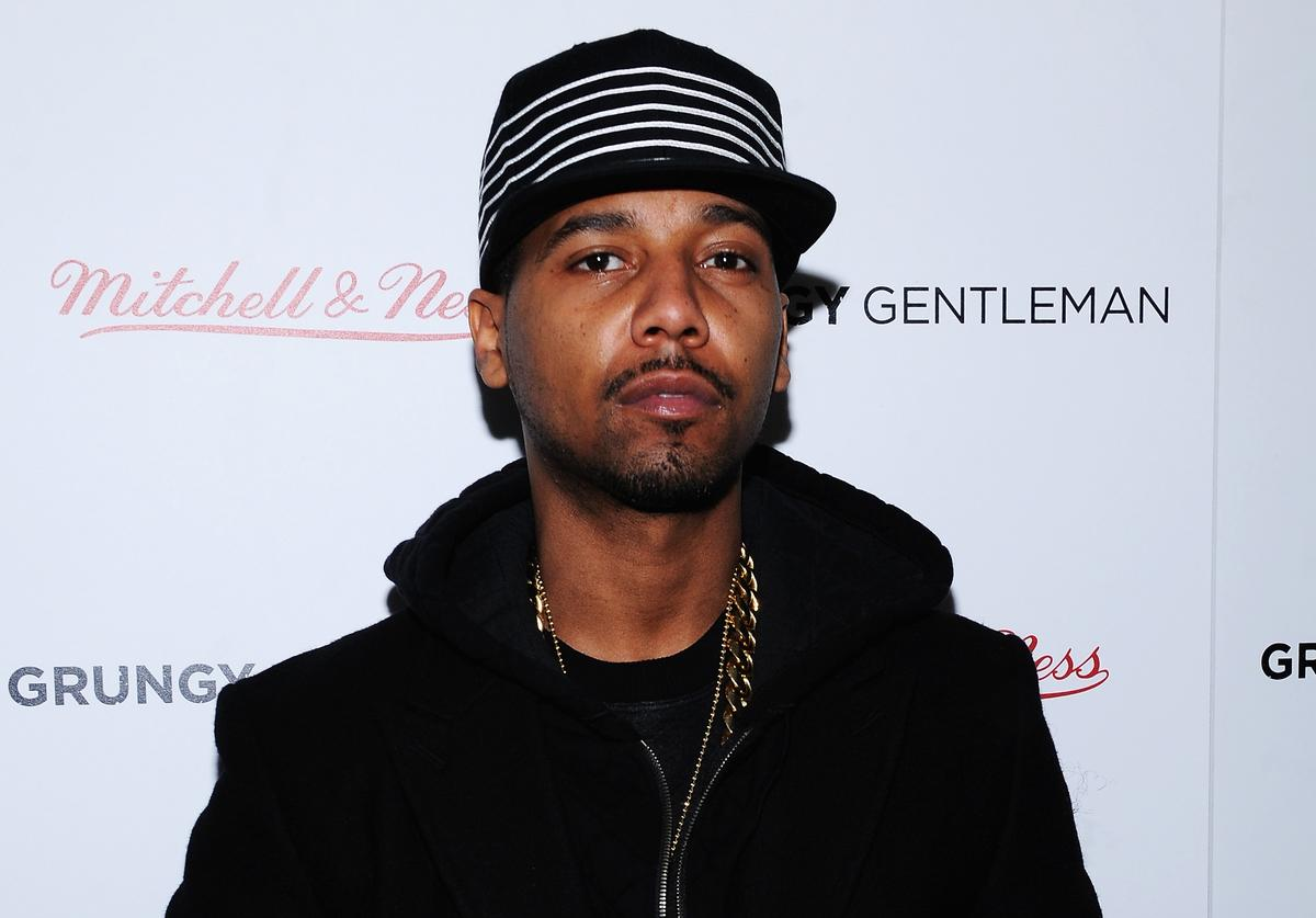 Juelz Santana attends the Grungy Gentleman presentation during Mercedes-Benz Fashion Week Fall 2015 at Pier 59 Studios on February 15, 2015 in New York City