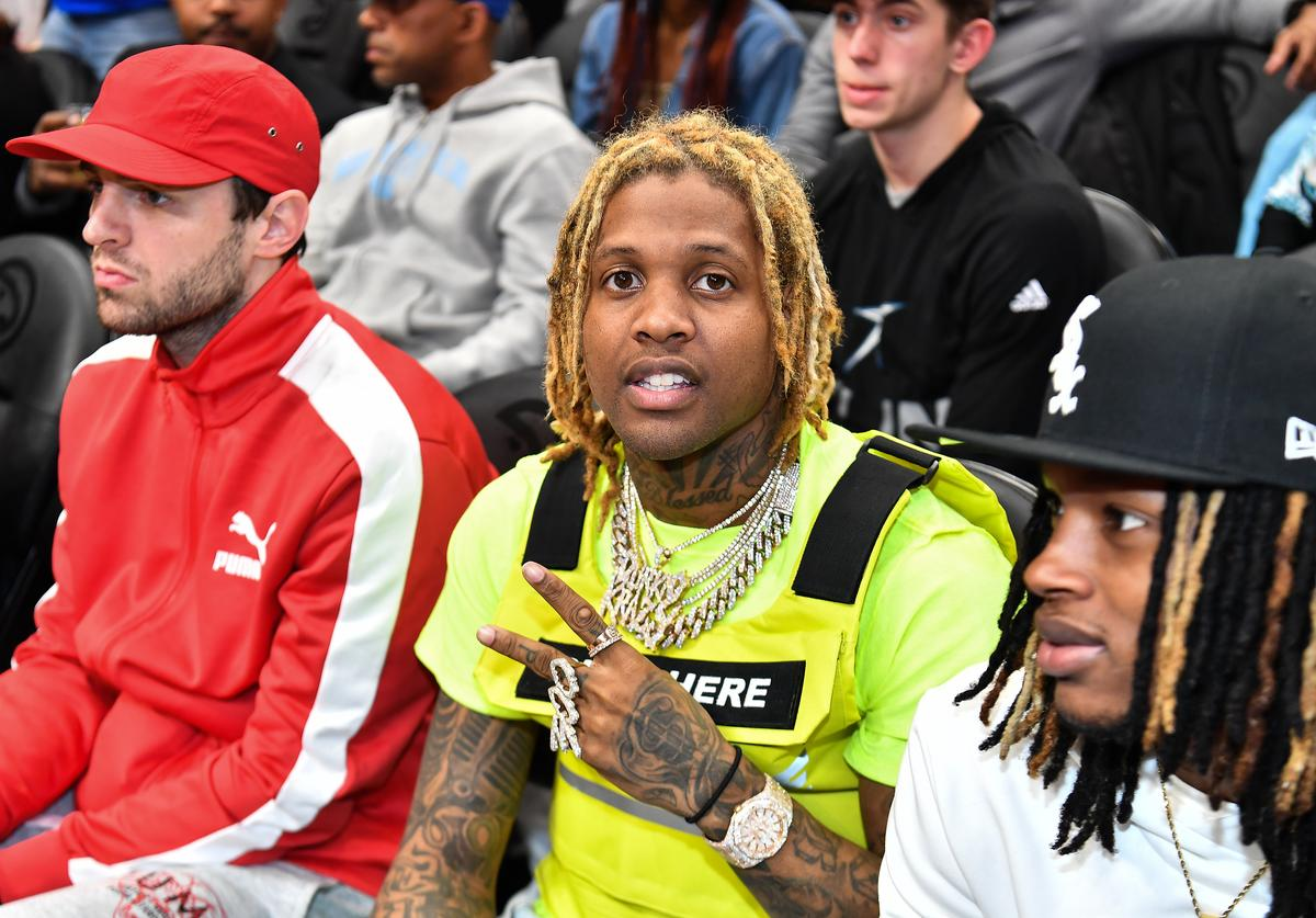 Lil Durk attends the 42nd Annual McDonald's All American Games at State Farm Arena on March 27, 2019 in Atlanta, Georgia