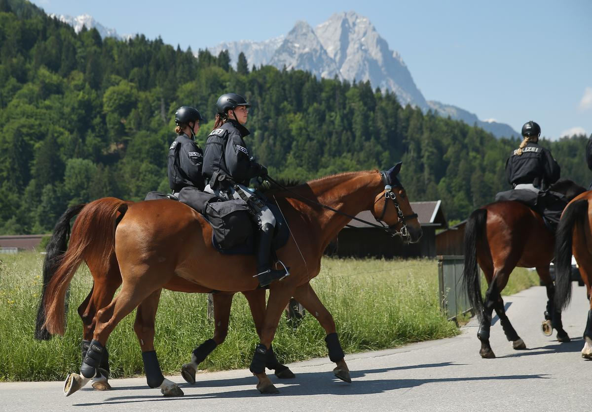 Horse-Mounted Police