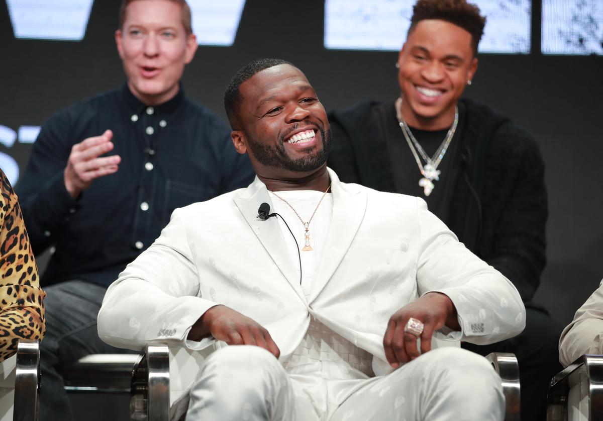 "Curtis ""50 Cent"" Jackson of 'Power' speaks onstage during the Starz segment of the Summer 2019 Television Critics Association Press Tour at The Beverly Hilton Hotel on July 26, 2019 in Beverly Hills, California."