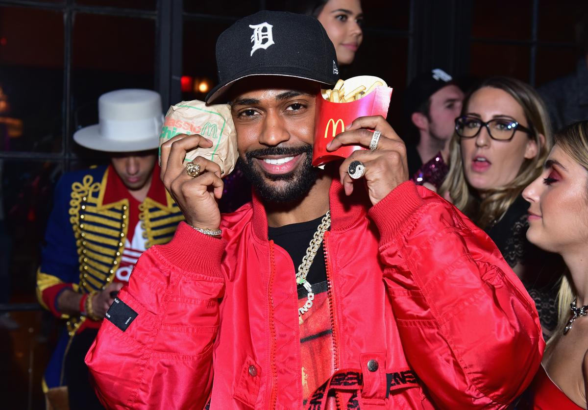 Big Sean attends McDonald's Celebrates Music's Hottest Night With The Chainsmokers at The Bowery Hotel on January 26, 2018 in New York City.