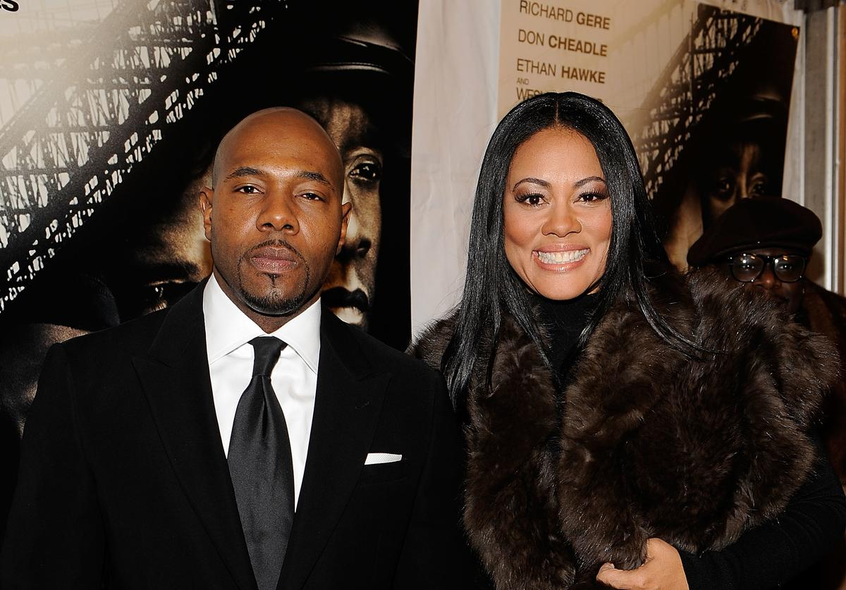 """Antoine Fuqua and Lela Rochon attend the premiere of Overture Films"""" """"Brooklyn's Finest at AMC Lincoln Square Theater on March 2, 2010 in New York City"""