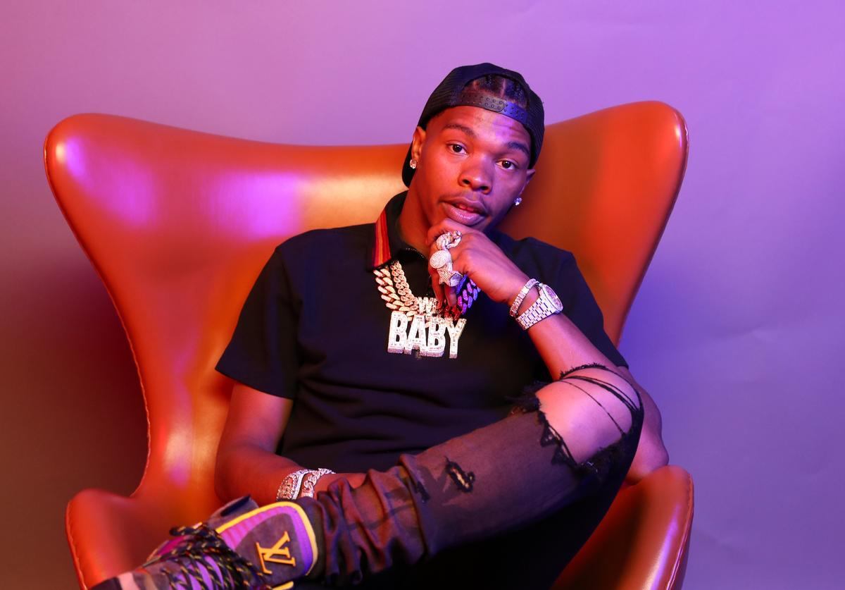 Lil Baby poses for a portrait during the BET Awards 2019 at Microsoft Theater on June 23, 2019 in Los Angeles, California.