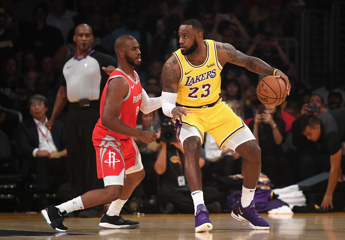 Chris Paul & LeBron James