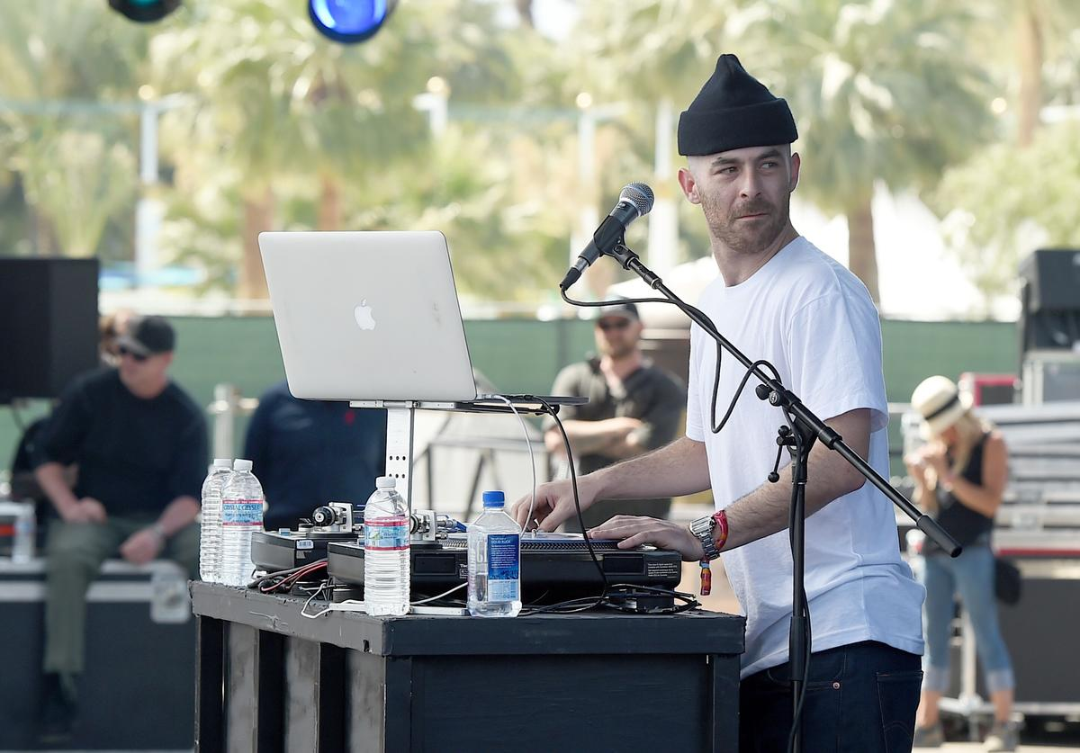 Alchemist At Coachella 2015.