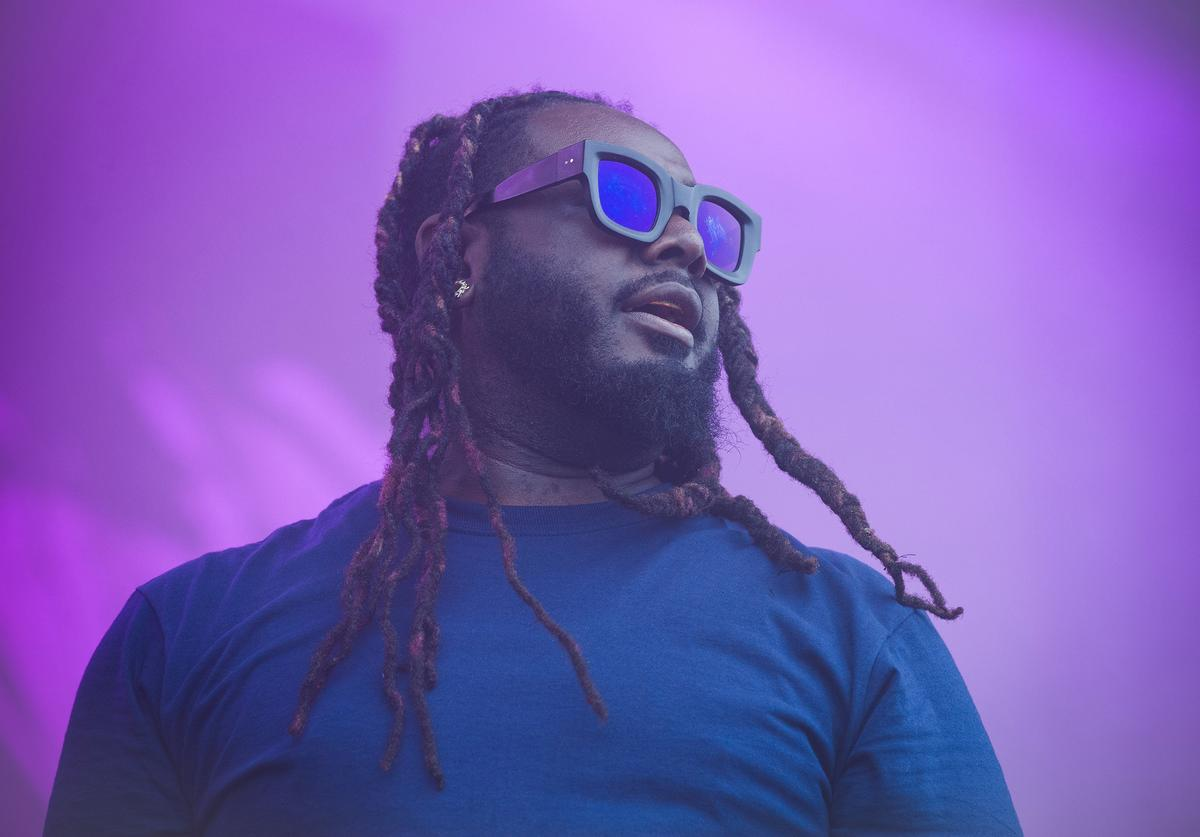 T-Pain performs onstage during day two of Nickelodeon's Second Annual SlimeFest at Huntington Bank Pavilion on June 09, 2019 in Chicago, Illinois.