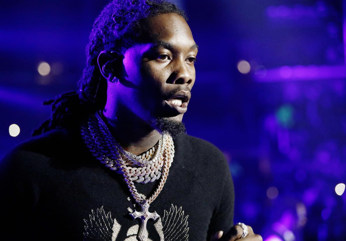 Offset of Migos performs onstage at the STAPLES Center Concert Sponsored By Sprite during BET Experience at Staples Center on June 22, 2019 in Los Angeles, California