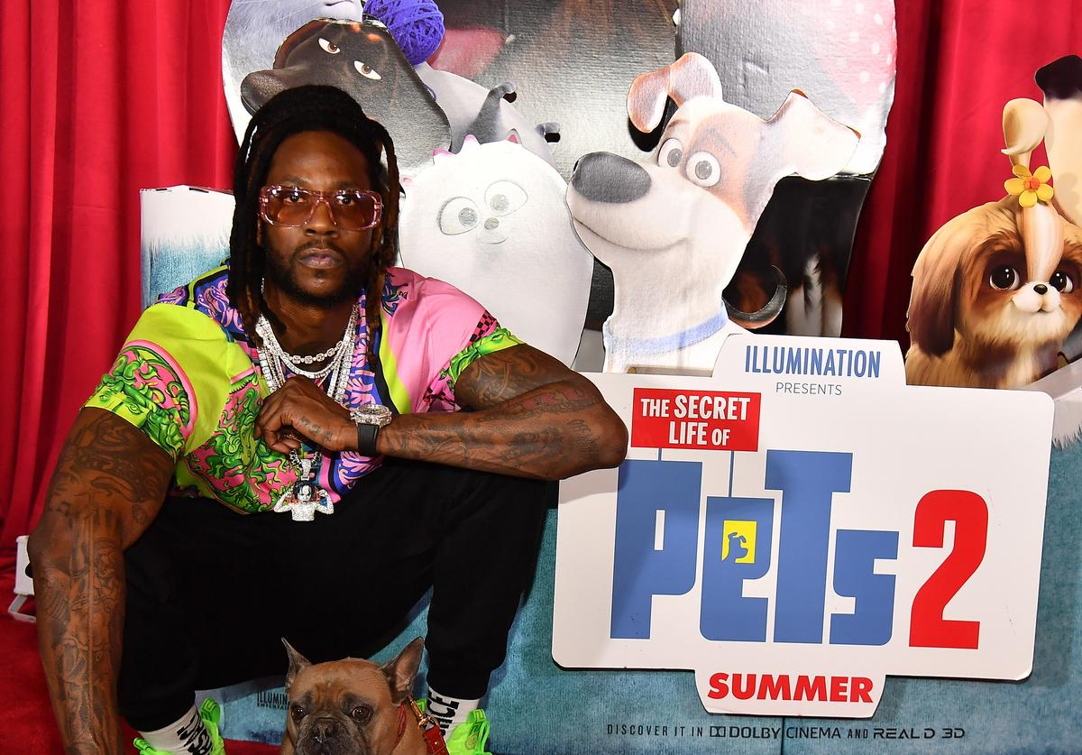 "2 Chainz and Trappy S. Goyard attend ""The Secret Life of Pets 2"" Special Screening"