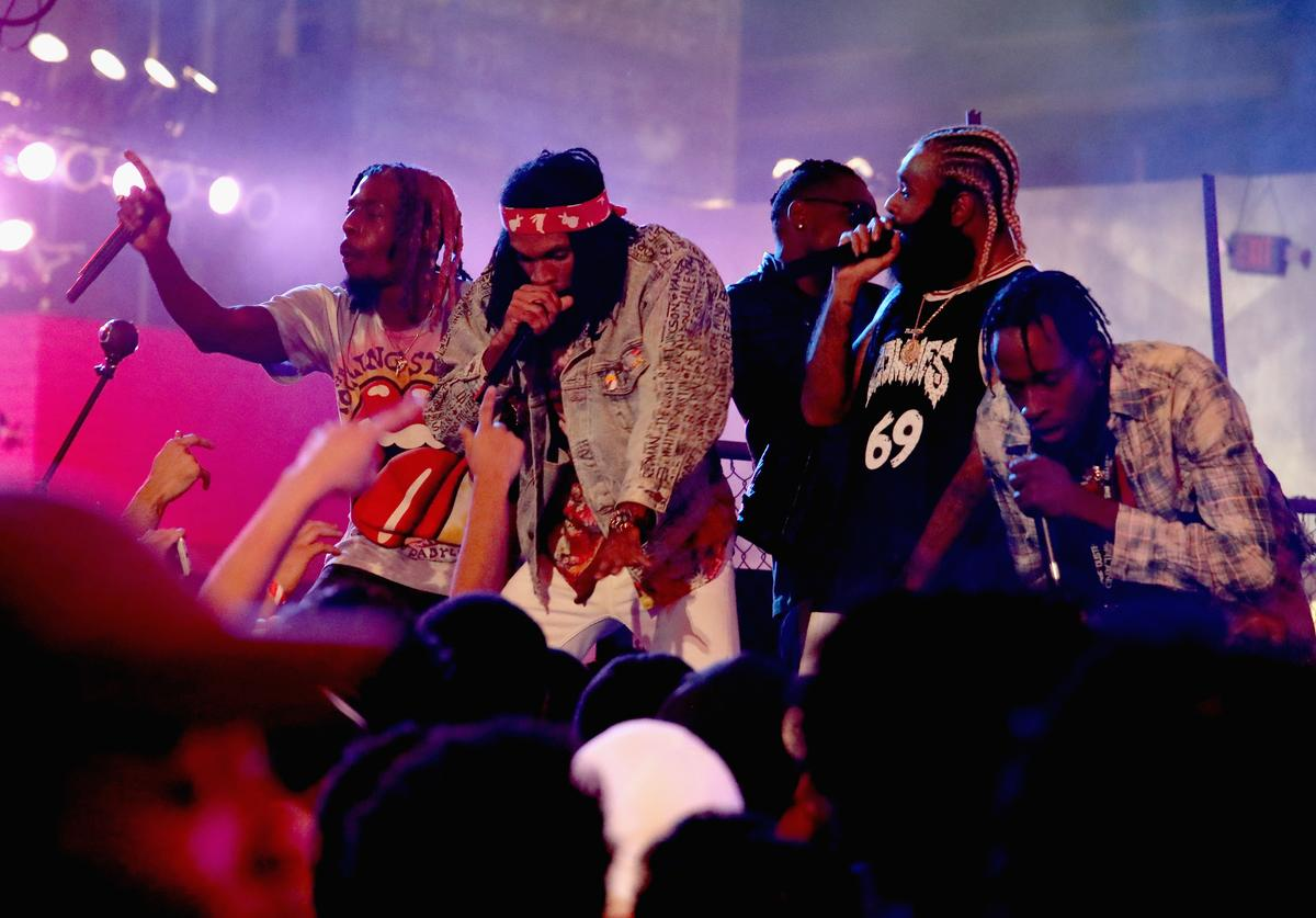 """Flatbush Zombies performs onstage at MTV's """"Wonderland"""" LIVE Show"""