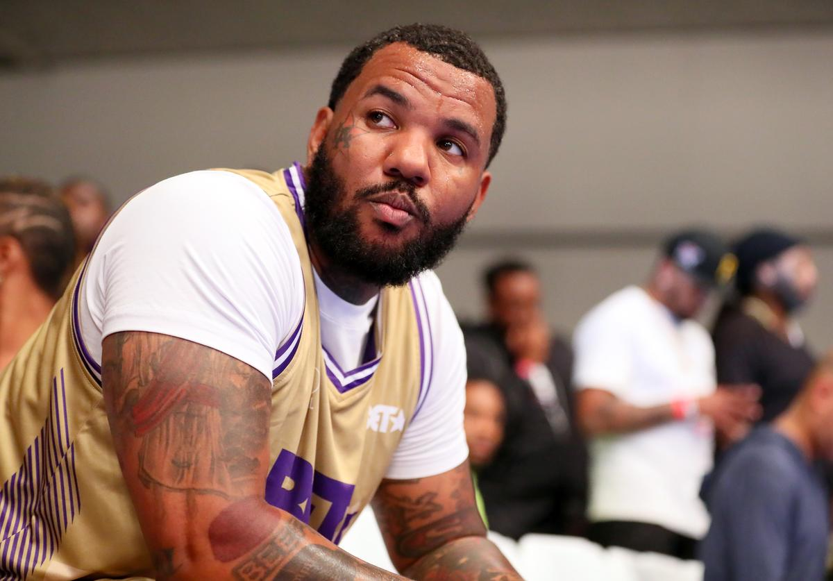The Game plays in the BETX Celebrity Basketball Game Sponsored By Sprite during the BET Experience at Los Angeles Convention Center on June 22, 2019 in Los Angeles, California.