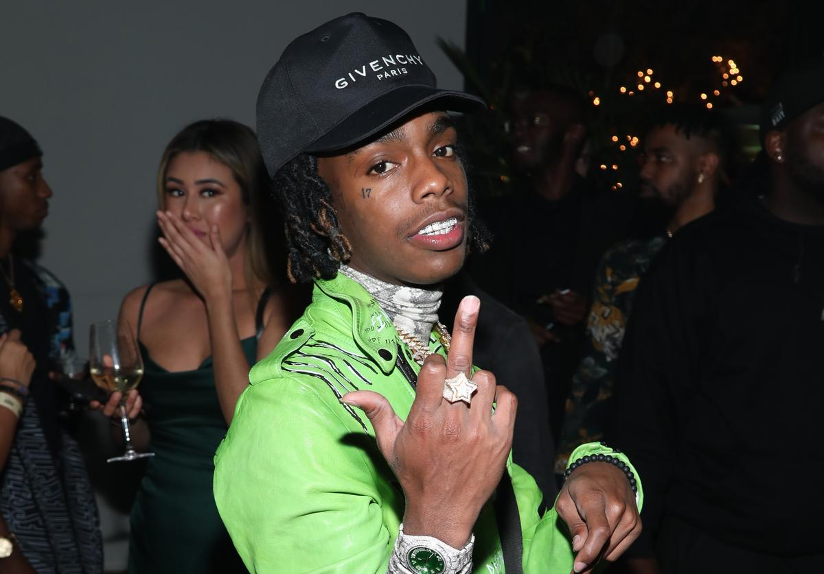 YNW Melly at a party