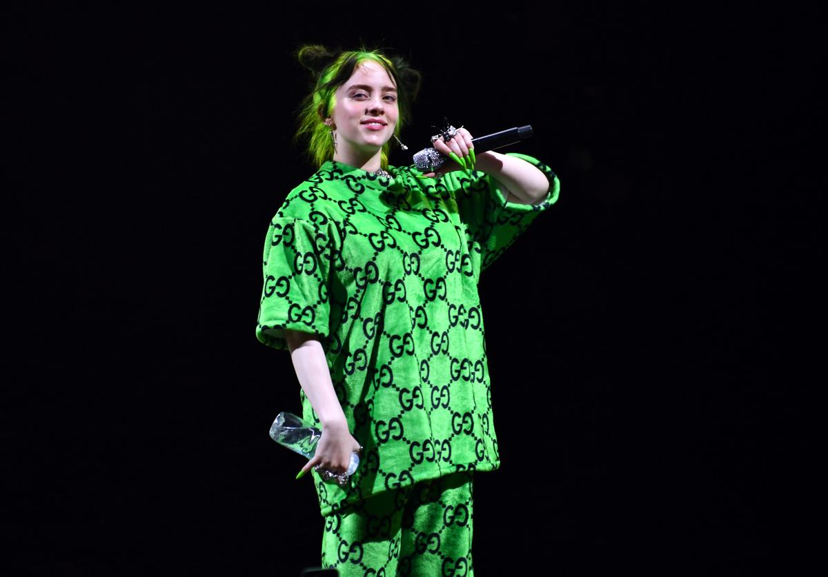 Billie Eilish performs onstage at The Greek Theatre on July 11, 2019 in Los Angeles, California