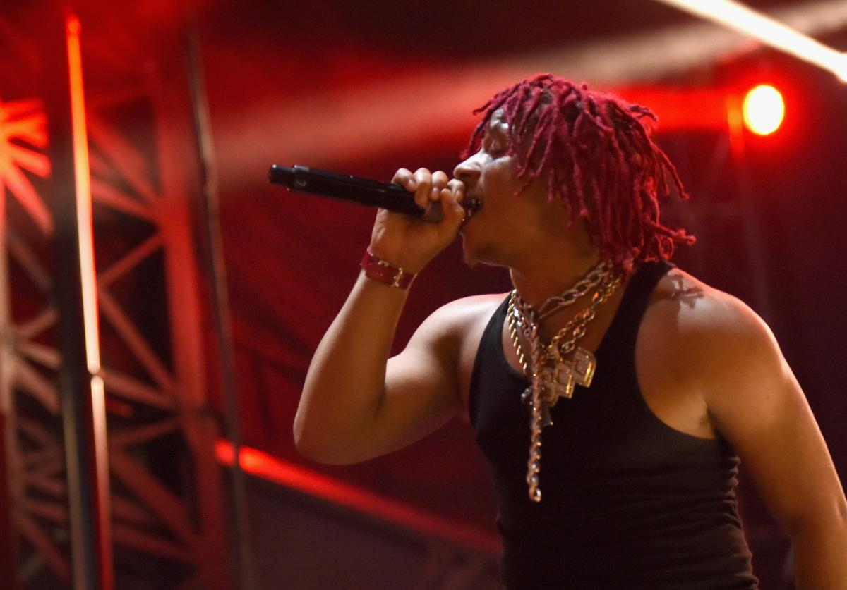 Trippie Redd performs onstage during Adult Swim Festival 2018 at ROW DTLA on October 6, 2018 in Los Angeles, California